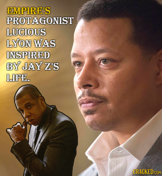 EMPIRE'S PROTAGONIST LUCIOUS LYON Was INSPIRED BY JAY Z'S LIFE. CRACKED CON