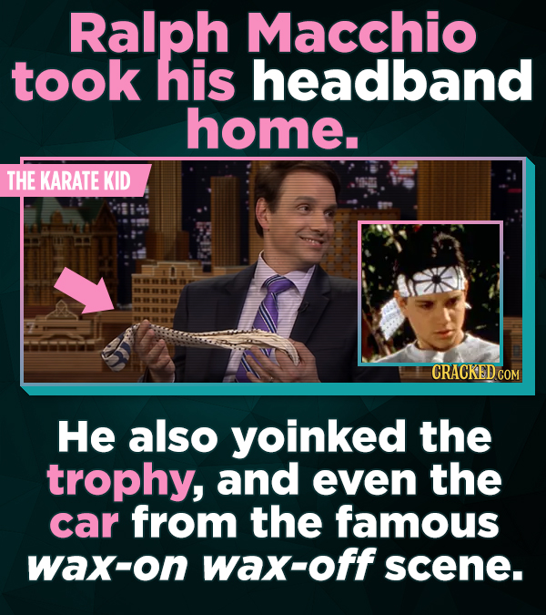 21 Actors Who Lifted Iconic TV And Movie Props
