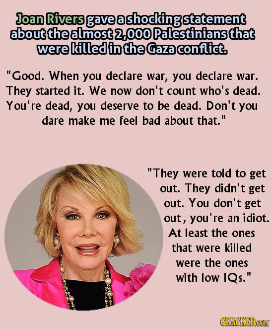 18 Of Your Favorite Celebrities Who Believe Hateful Things