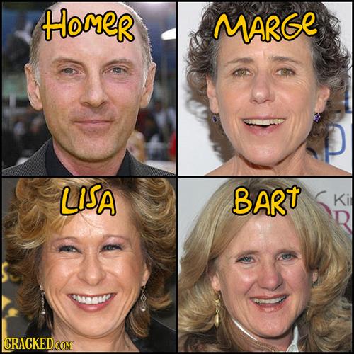 HOmer MARGE LISA BART Ki CRACKEDCOMT