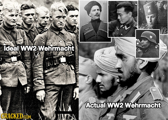 ldeal W2-Wehrmacht Actual WW2 Wehrmacht GRACKEDlcO