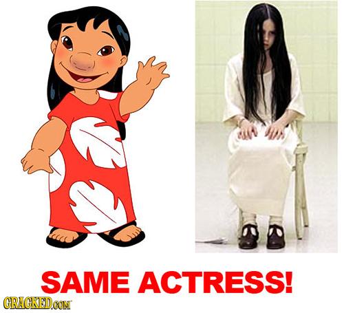 SAME ACTRESS! CRACKEDOON