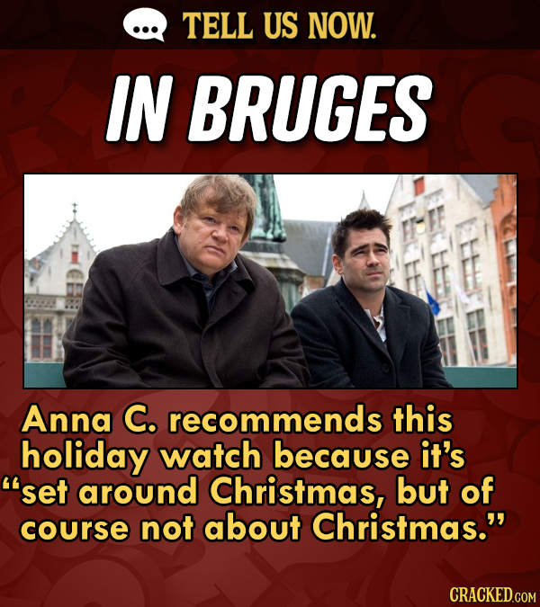You Told Us: Your Unexpected Holiday Movie (That Isn't 'Die Hard')