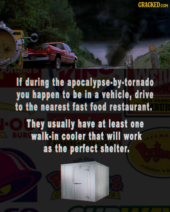 19 Awesome Survival Tips (You'll Probably Never Need)