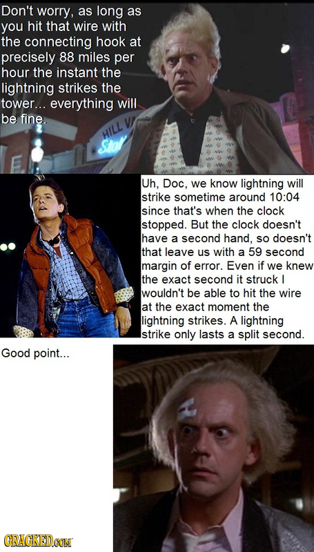 17 Gaping Plot Holes in Famous Movies
