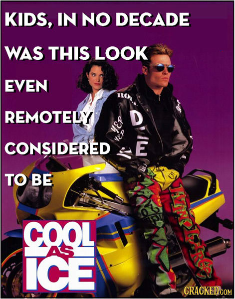 24 Awful Fashions That Hollywood Tried To Pass Off As Cool
