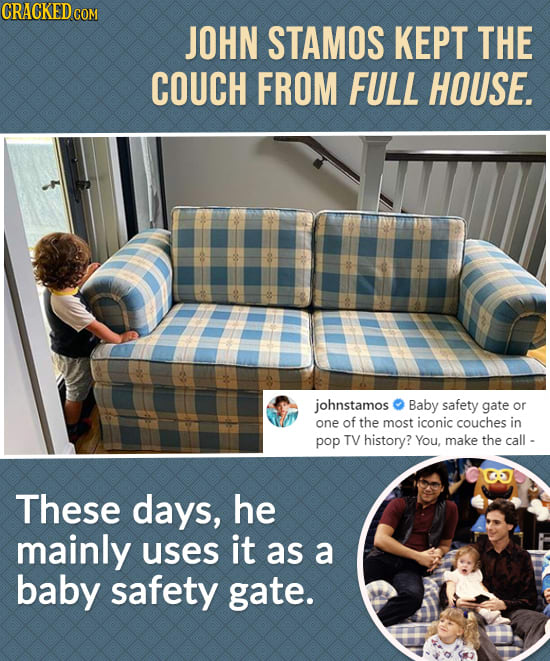 Weird Ways Famous Movie/TV Props Were Used Outside Sets