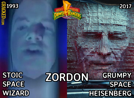CRACKED.COM o 2017 MORPLIN MIGHTY RANGERS PewER STOIC ZORDON GRUMPY SPACE SPACE WIZARD HEISENBERG
