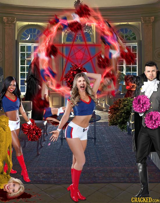 Cracked Storytime: Count Von Blutkuchen Meets The Draculettes