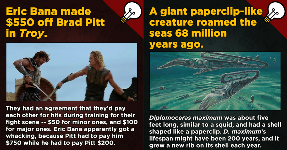 13 Movies, History, And Science Now-You-Know Facts