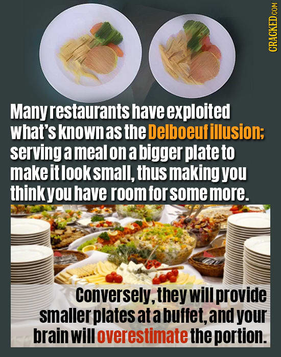 Sneaky Ways Restaurants Are Hacking Your Brain