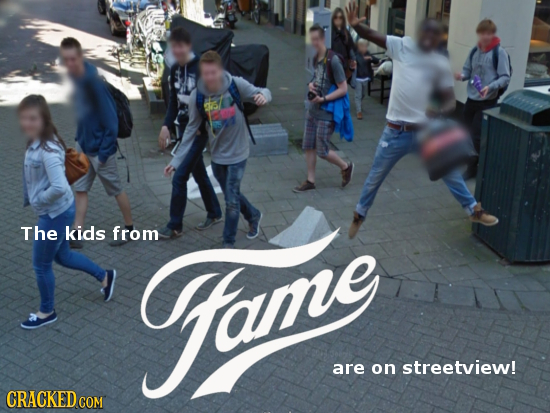 The kids from ome are on streetview! CRACKED COM
