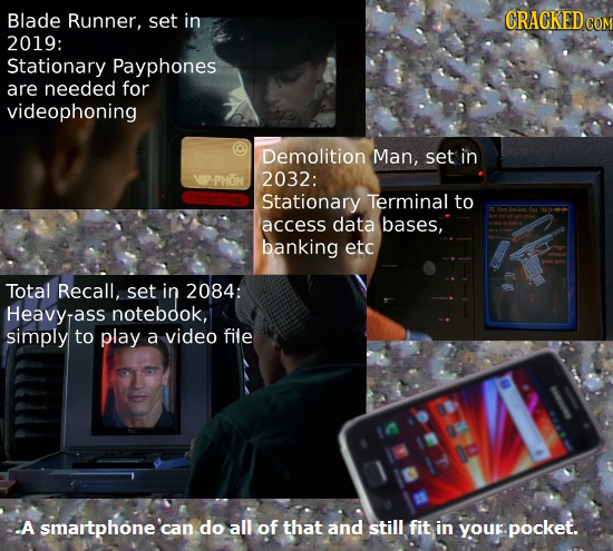 15 Cool Sci-Fi Technologies We've Already Blown Right Past
