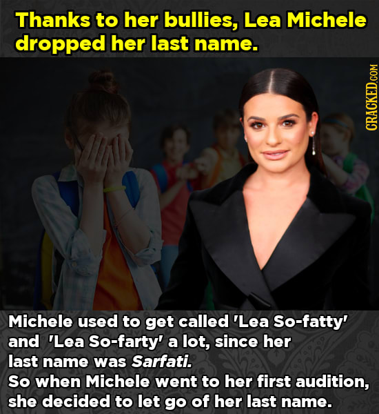 How Celebs Arrived At Stage Names (They're Stuck With)