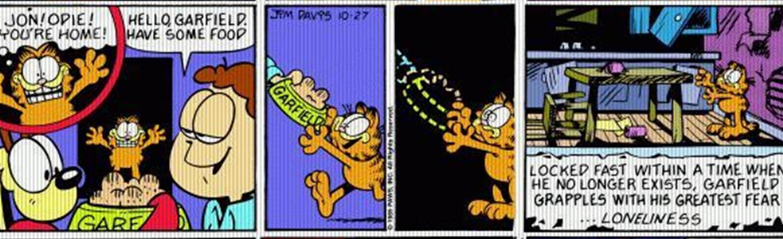 Garfield's 1989 Week Of Existential Horror