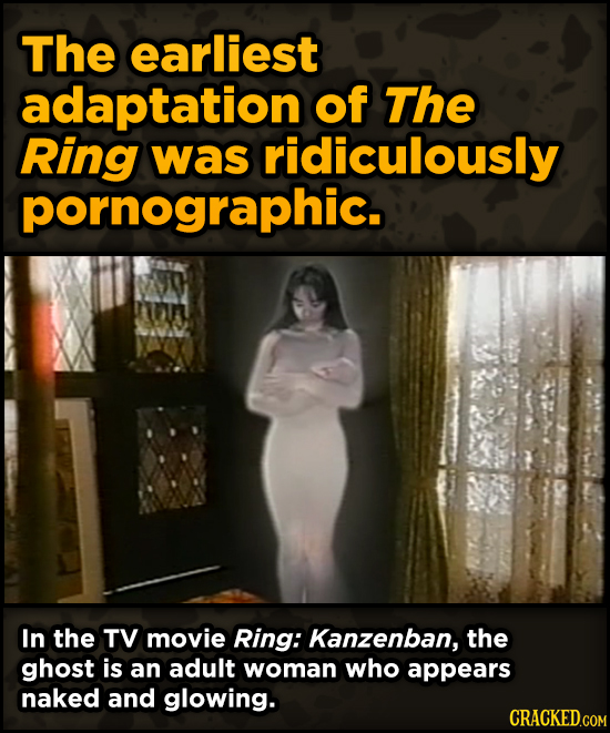 Super-Weird Early Versions Of Famous Characters - The earliest adaptation of The Ring was ridiculously pornographic.