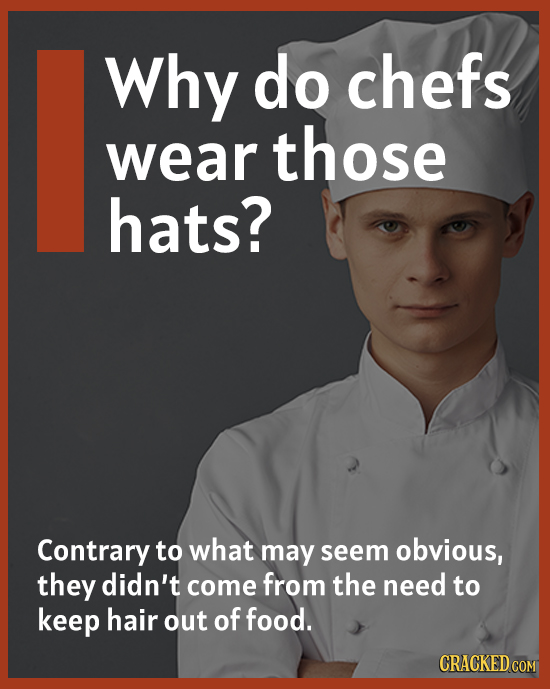What's Up With Chef Hats?