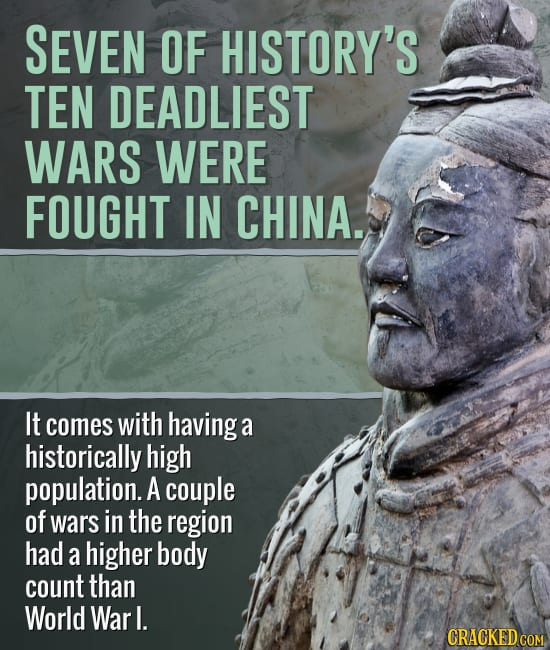 Instances Where We Picture History Wrong