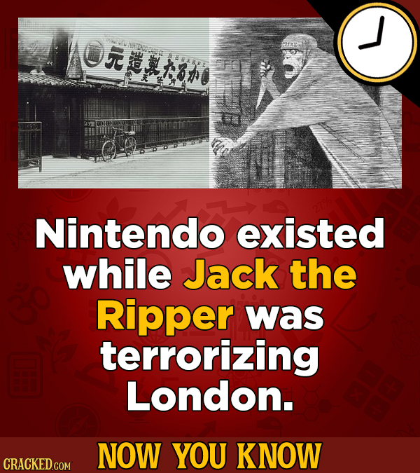 YOIBO Nintendo existed while Jack the Ripper was terrorizing London. NOW YOU KNOW CRACKED GOM