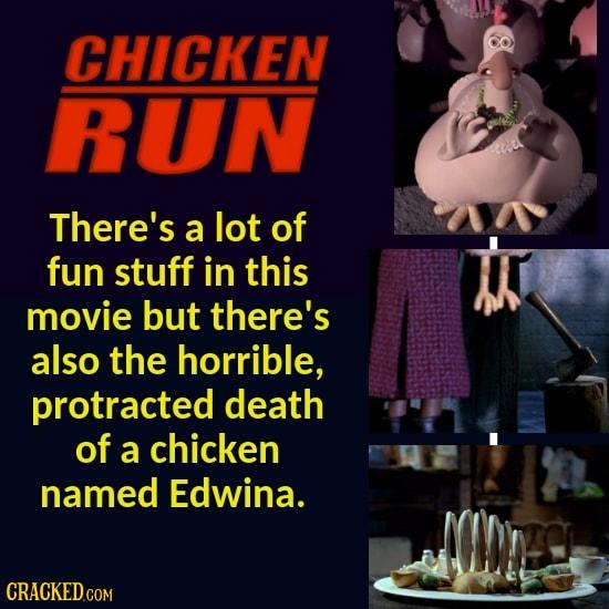 22 Disturbing Scenes You Forgot Were In Beloved Films/Shows