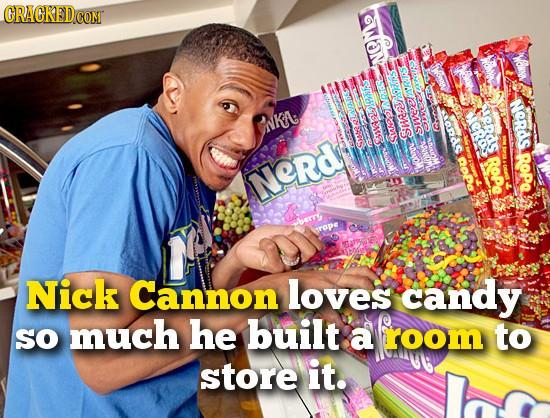 CRACKEDCON coNT Woxw NGMe f 'RUS ERAS NORdS ls NKA. eRo 35107 She sweel Smeod CaesARAS RoPa ROPe ROPO Nerd Tob Wnrak berr rape Nick Cannon loves candy