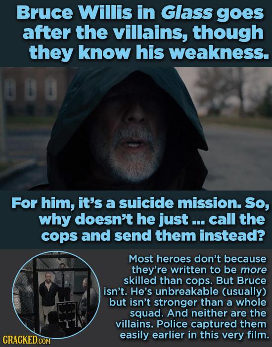 Spectacularly Dumb Heroic Movie Sacrifices