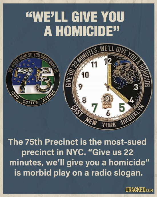 NYPD's Challenge Coins Are Disturbing As Hell