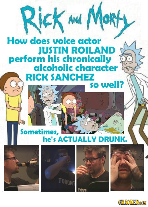 21 Huge Pop Culture Moments Brought To You By Booze/Drugs