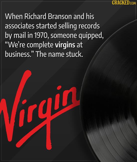 15 Surprising Meanings Behind Brand Names