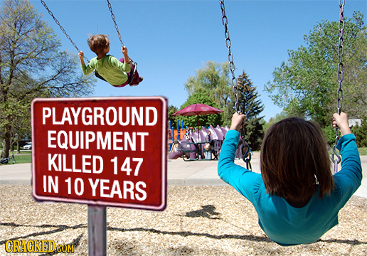 PLAYGROUND EQUIPMENT KILLED 147 IN 10 YEARS GRACRED COM