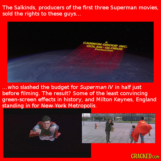21 Shockingly Lazy Special Effects in Big-Budget Movies