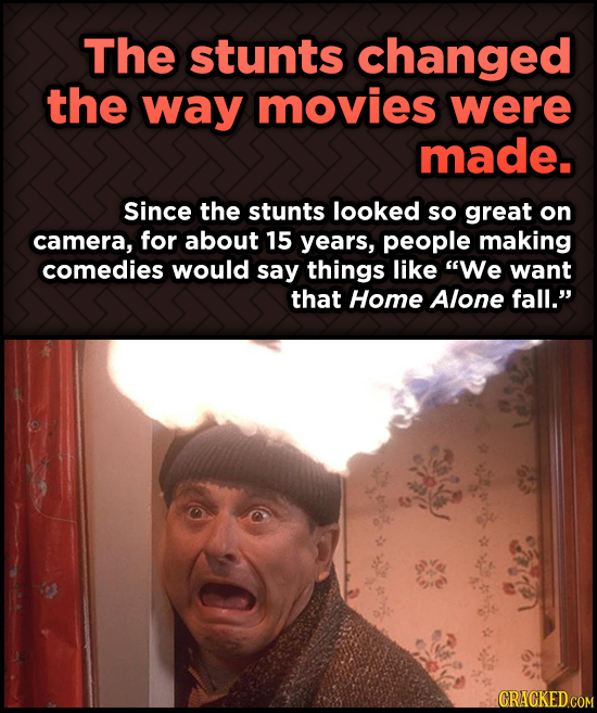 Odd, Fascinating Trivia About Home Alone - The stunts changed the way movies were made.