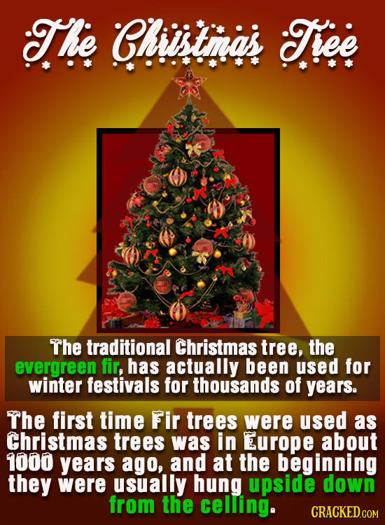21 Holiday Traditions With Shockingly Bizarre Origins