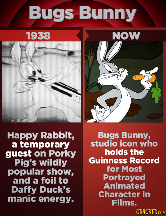 Barely Recognizable First Drafts Of Iconic Cartoon Character