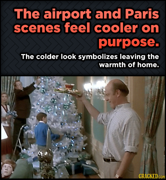 Odd, Fascinating Trivia About Home Alone - The airport and Paris scenes feel cooler on purpose.