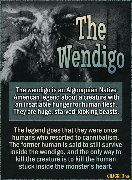 16 Creepy Legends From Around The World