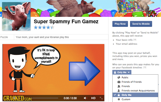 Super Spammy Fun Gamez Play Now Send to Mobile By clicking Play Now or 'Send to Mobile Puzzle Your above, this app will receive: mom. your aunt and y