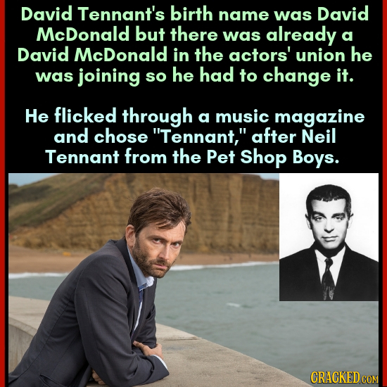 29 Celebrity Names With Insane Backstories You Never Knew