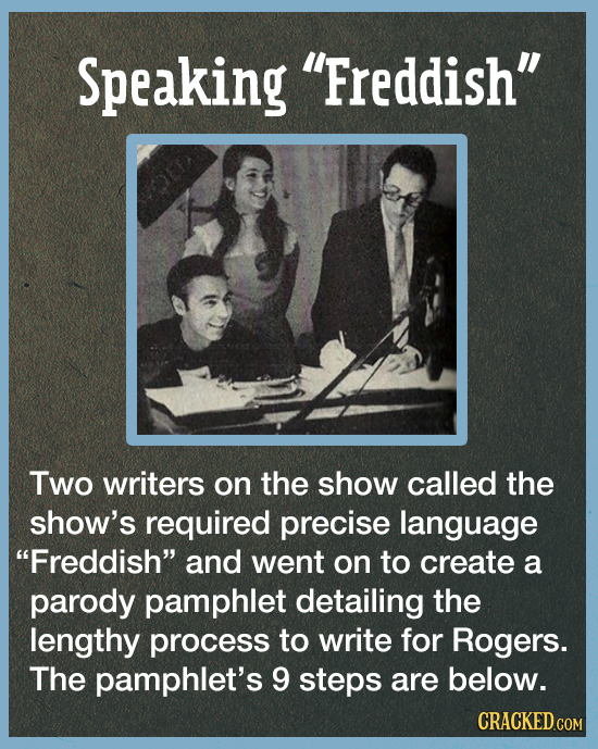 Mr. Rogers' Strict Behind-The-Scenes Rules