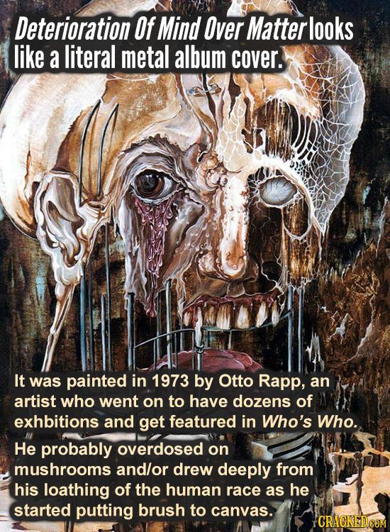 Serious Works Of Art That Belong On A Metal Album