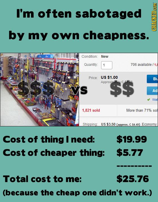 29 Ways You're Just Plain Bad At Shopping