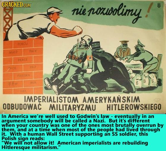 CRACKEDCO comr nie noauolimy! POKOJ WAL STREET MMP PAIX PEACE PAZ PLANY AGRESJI FRIEDEN S 4 MIR S PAX IMPERIALISTOM AMERYKANSKIM ODBUDOWAC MILITARYZMU