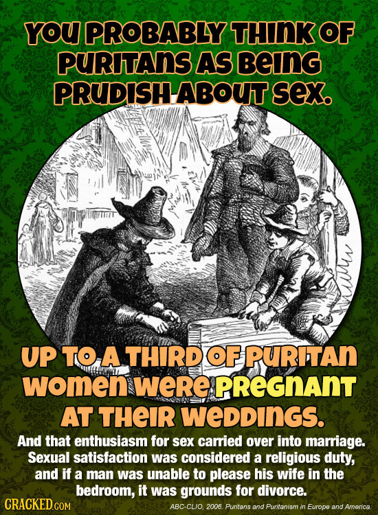 21 Important Moments in History (That Were Sex-Fests)