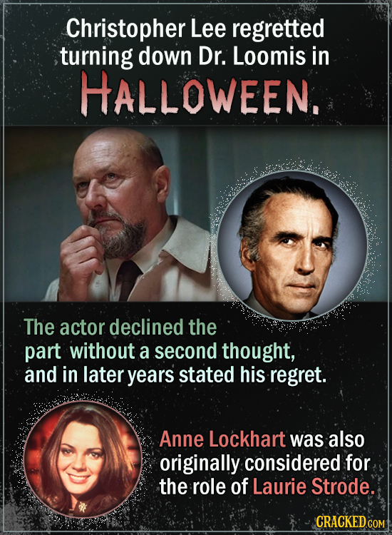 Actors Who Almost Starred In Famous Horror Movies