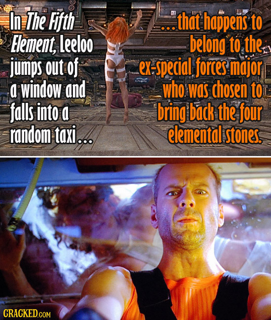 18 Movie Plots You Didn't Notice Rely On Impossible Luck