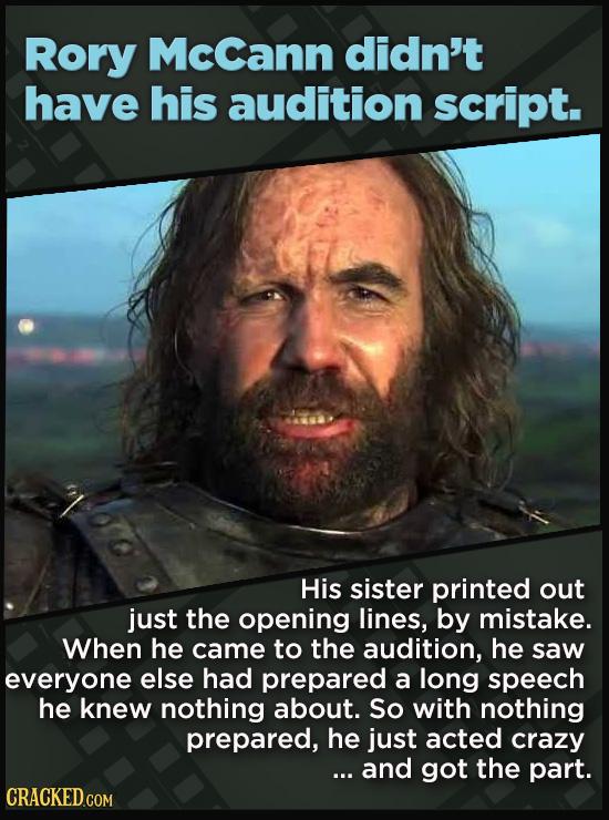 21 Actors Who Landed Huge Roles In Bizarre Ways
