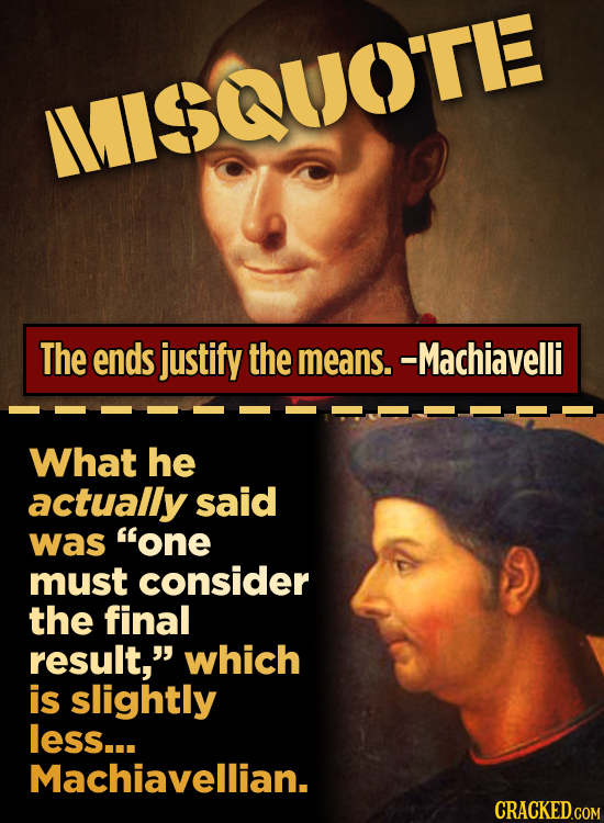 10 Historical Quotes That Everyone Gets Wrong