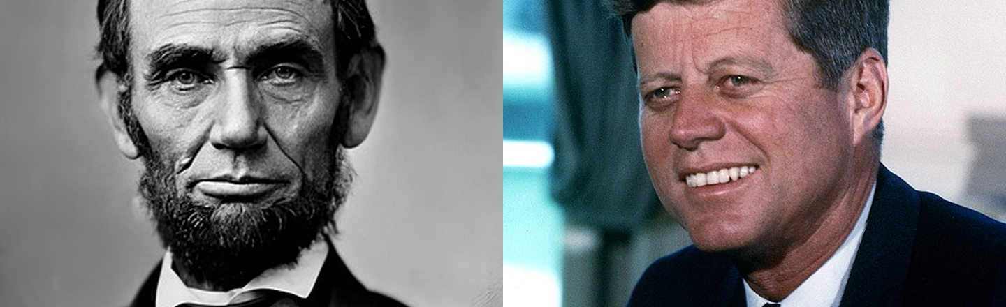 14 Eyebrow-Arching Historic Coincidences