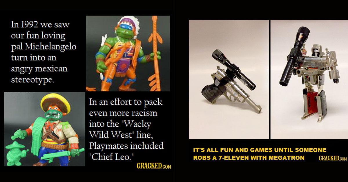 27 Childhood (Now Terrifying) Toys