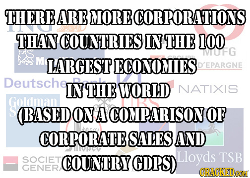 23 Terrifying (But True) Facts About Big Corporations